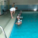 J'apprends à nager